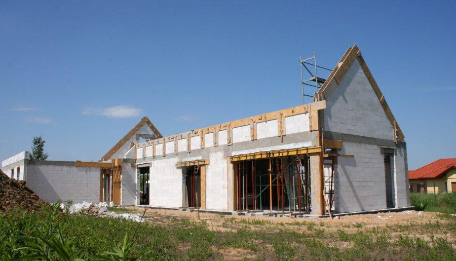 Budowa domu 2019. Wizyta na budowie Stodoły M++