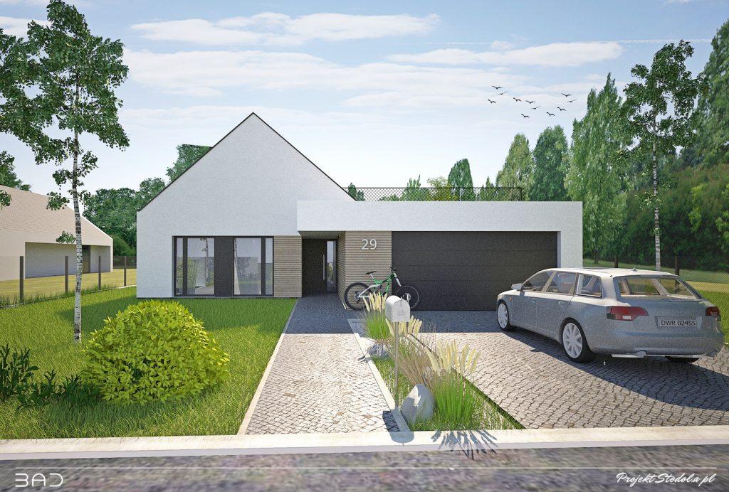 dom parterowy Stodoła