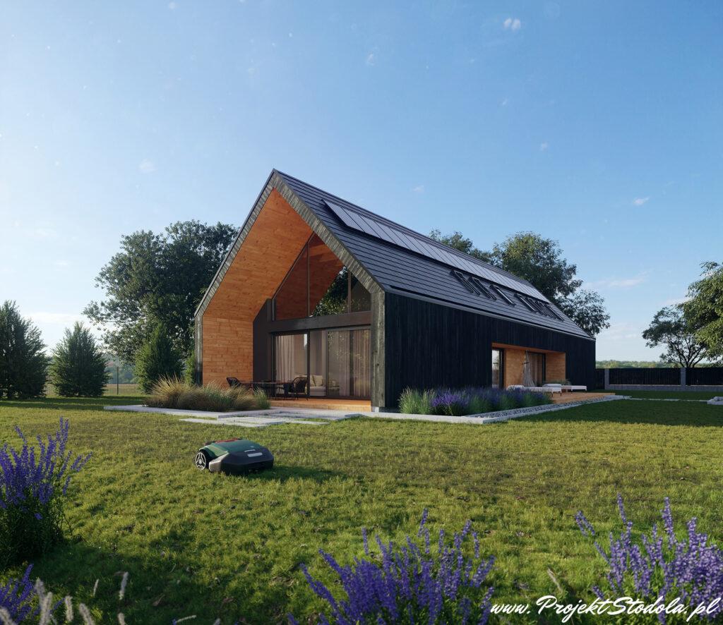 projekt stodoła i klimatyzacja