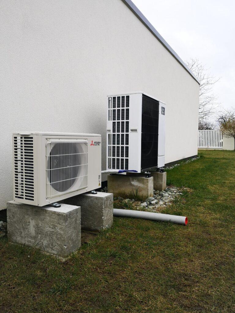 klimatyzacja jednostka zewnętrzna