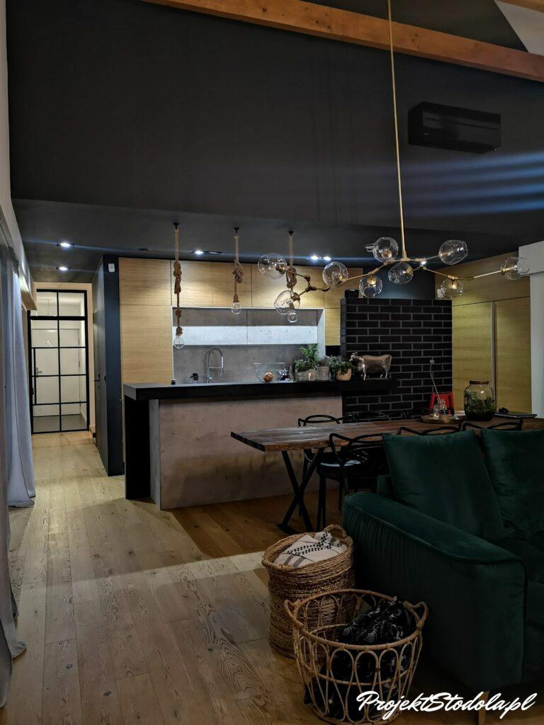 kuchnia dom stodoła
